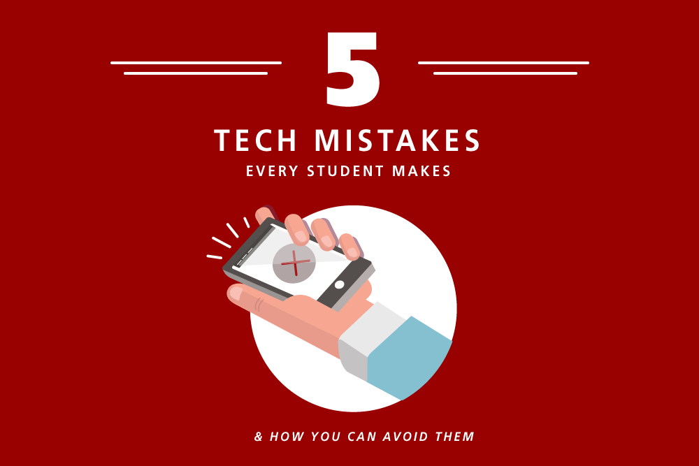 5 tech mistakes