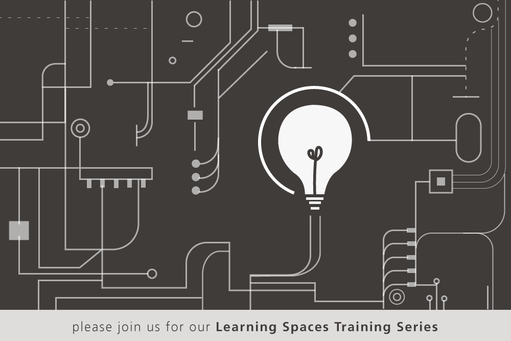 learning spaces training series