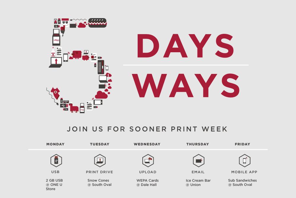 5 Days, 5 Ways