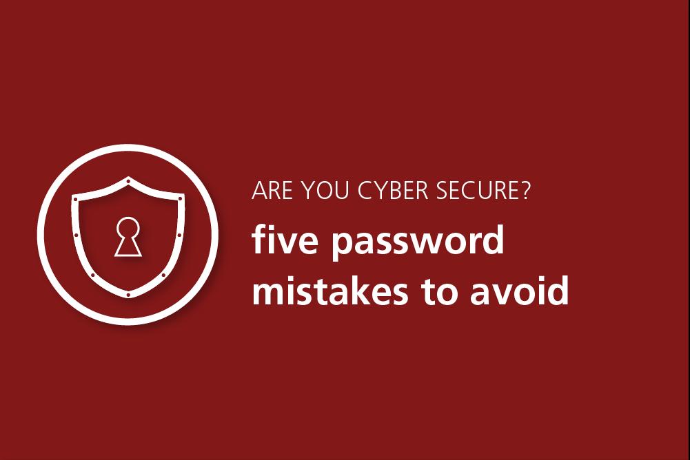 password mistakes